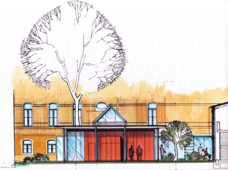 Architektur f r gastronomie architekten for Innenarchitektur kurse