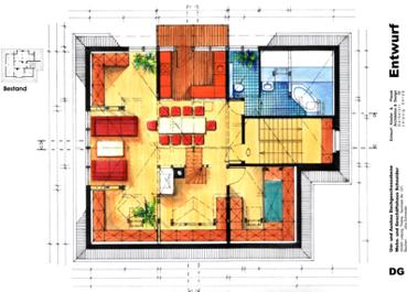 Architektur f r einfamilienhaus doppelhaus for Kurse innenarchitektur
